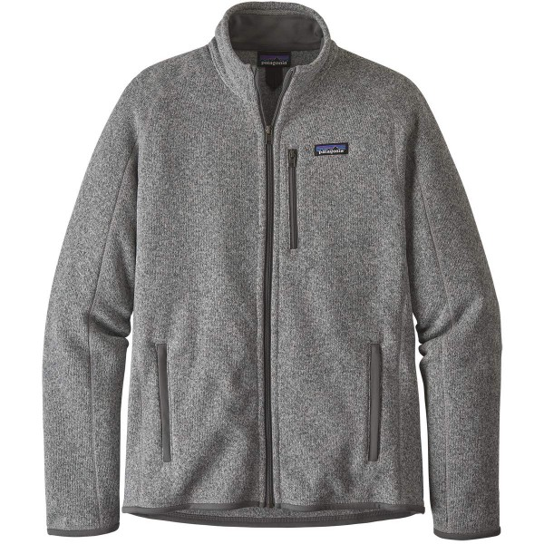 Patagonia Better Sweater Jacket Fleecejacke grau