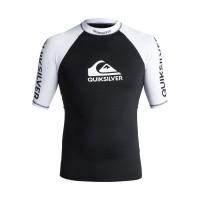 Quiksilver On Tour SS UV Funktionsshirt schwarz weiß