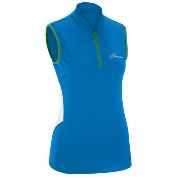 Gonso Jessi Damen Bike Shirt ärmellos blau
