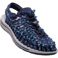 Keen Uneek Flat Sandalen blau