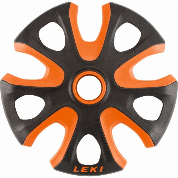 Leki Big Mountain Basket Ersatzteller orange schwarz