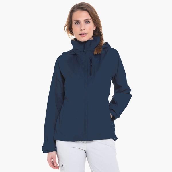 Schöffel Skopje2 ZipIn Jacket Damen Wanderjacke blau