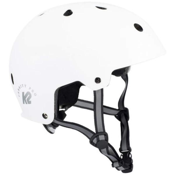 K2 Varsity Pro Helmet Skater Helm weiß