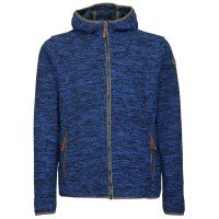 Killtec Wadimor Casual Strick Fleecejacke blau