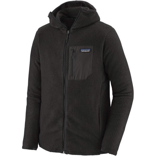 Patagonia R1 Air Full-Zip Hoddy Fleecejacke schwarz