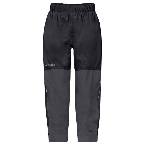 VAUDE Kids Escape Pants VI Kinder Regenhose schwarz