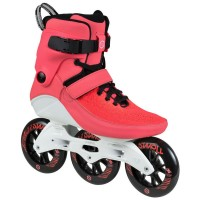 Powerslide Swell Bright Crimson 110 Inline Skates rot