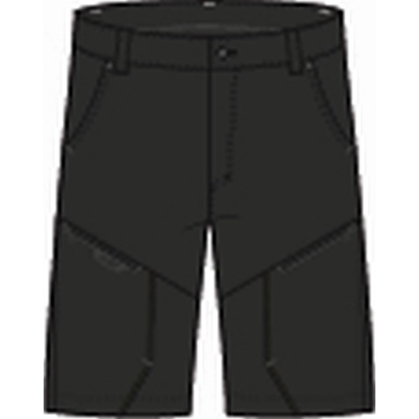 North Bend Extend Shorts Wanderhose kurz schwarz