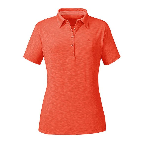 Schöffel Capri1 Damen Polo Shirt orange