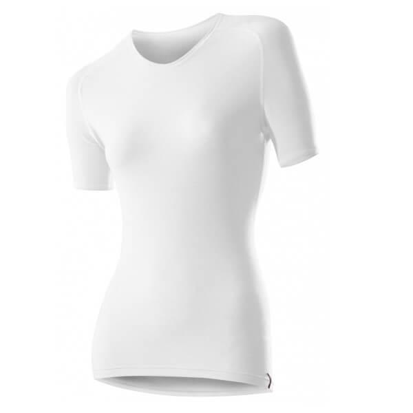 Löffler Damen Shirt kurzarm Transtex warm Funktionsunterwäsche weiß
