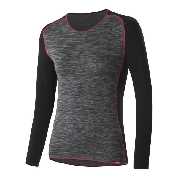 Löffler Shirt langarm Transtex warm Damen Funktionsshirt schwarz pink
