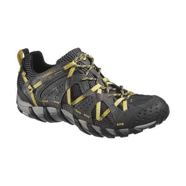 Merrell Waterpro Maipo Trekkingschuhe carbon schwarz gelb