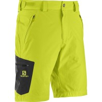Salomon Wayfarer Shorts Wanderhose kurz gelb
