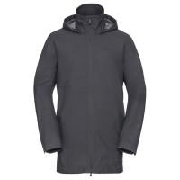 VAUDE Margone Coat Regenmantel grau