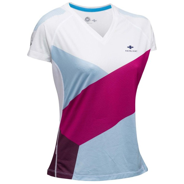 Raidlight Technical SS Top Damen Laufshirt weiß