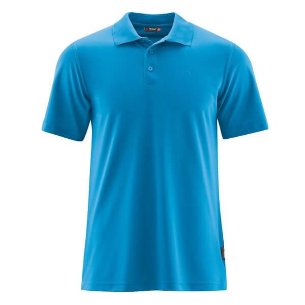 Maier Sports Ulrich Herren Poloshirt blau