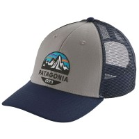 Patagonia Fitz Roy Scope LoPro Trucker Hat Schildmütze grau