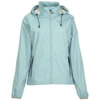 Killtec Sannah Allover Damen packbare Regenjacke grün