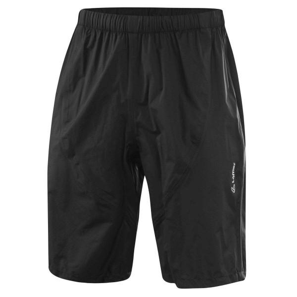 Löffler Shorts WPM Pocket Regenhose kurz schwarz