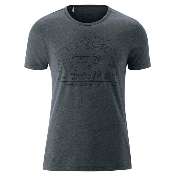 Maier Sports Home Shirt Funktionsshirt grau