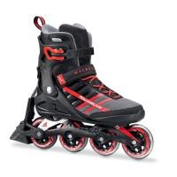 Rollerblade Macroblade 84 ABT Inline Skates schwarz rot