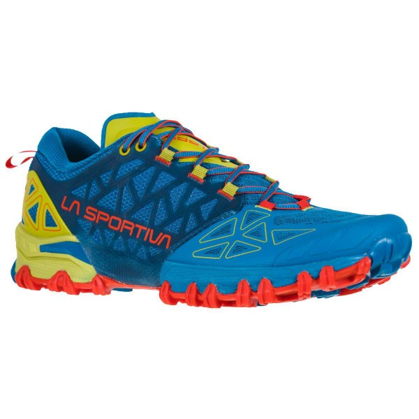 La Sportiva Bushido II Trail Running Laufschuhe blau rot