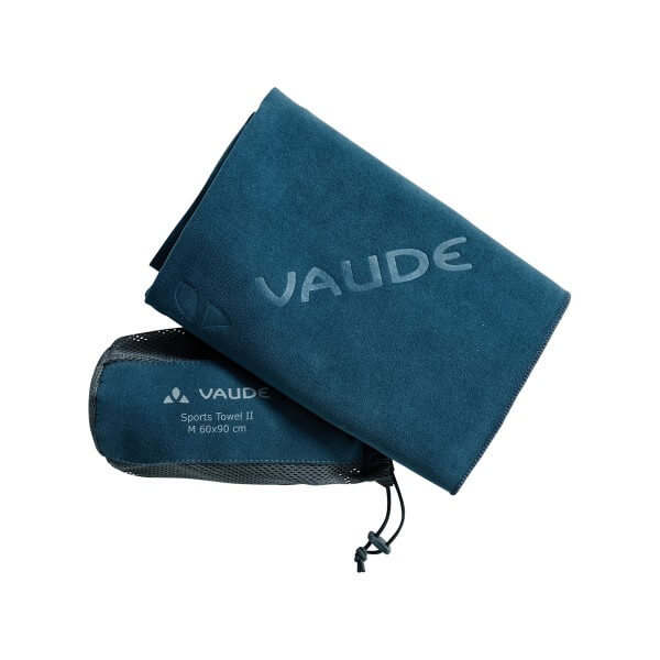 VAUDE Sports Towel II Microfaser Handtuch blau