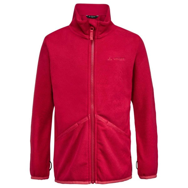 VAUDE Kids Pulex Jacket Kinder Fleecejacke rot