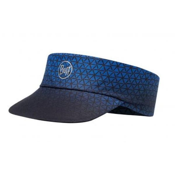 Buff Pack Run Visor R-Equilateral Sonnenschild blau