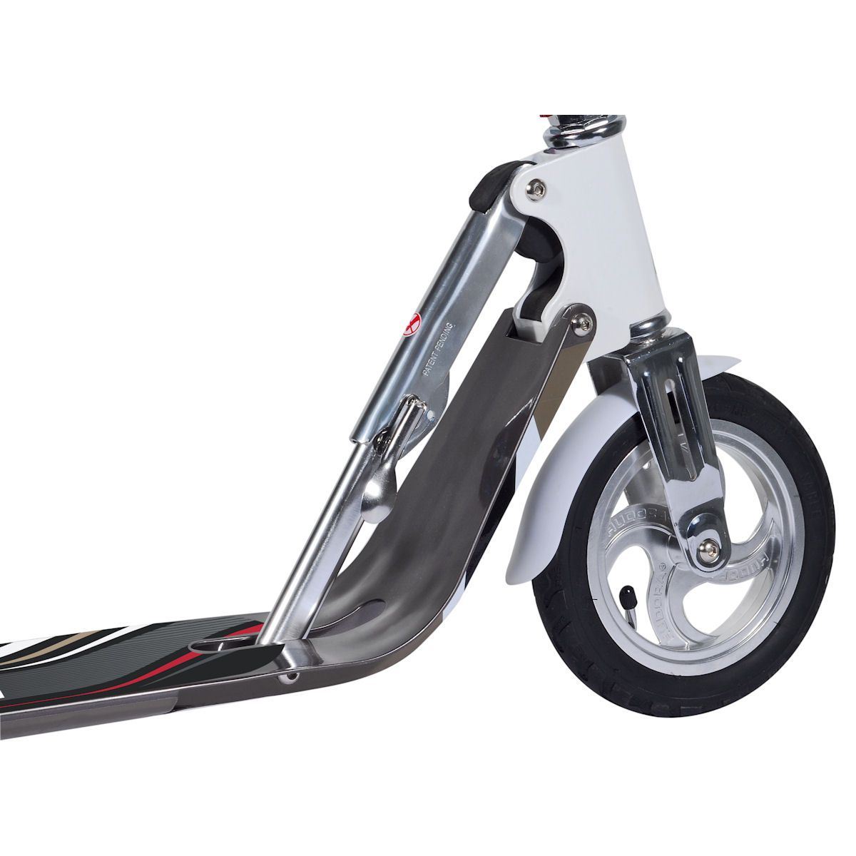 hudora big wheel air 205 scooter mit luftreifen roller. Black Bedroom Furniture Sets. Home Design Ideas