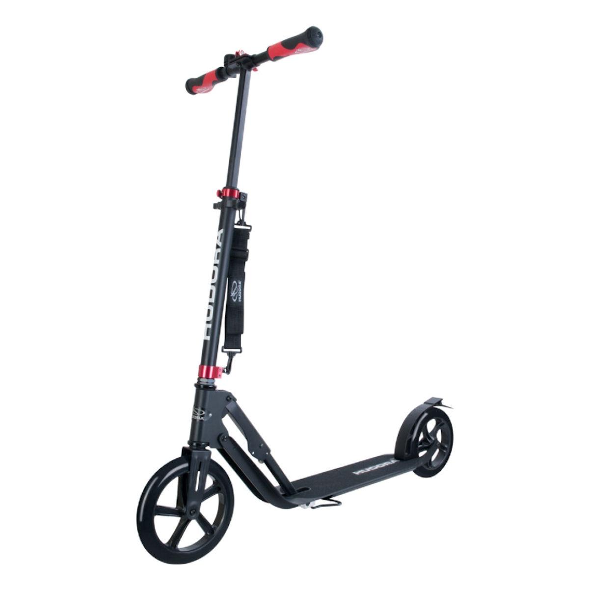 hudora big wheel style 230 roller scooter schwarz ebay. Black Bedroom Furniture Sets. Home Design Ideas