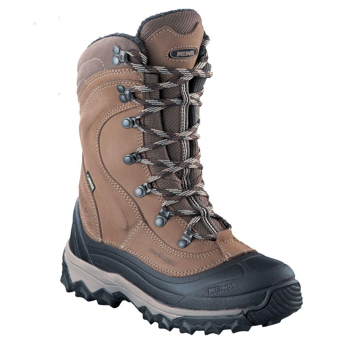 Meindl Garmisch Lady Pro GTX Canadian Boots Damen Winterstiefel braun