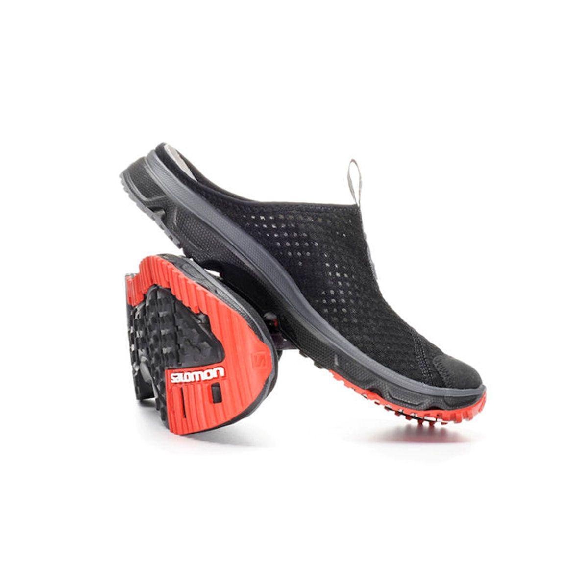 salomon rx slide 3 0 slipper clogs freizeitschuhe schwarz. Black Bedroom Furniture Sets. Home Design Ideas